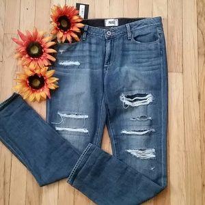 Nwt jimmy jimmy skinny distressed jeans